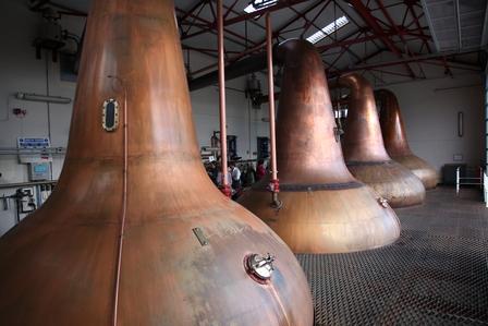 Single Malt Scotch Whisky Production 7. - Distillation image 10