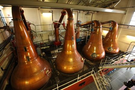 Single Malt Scotch Whisky Production 7. - Distillation image 12