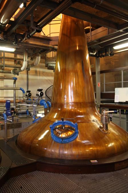 Single Malt Scotch Whisky Production 7. - Distillation image 16