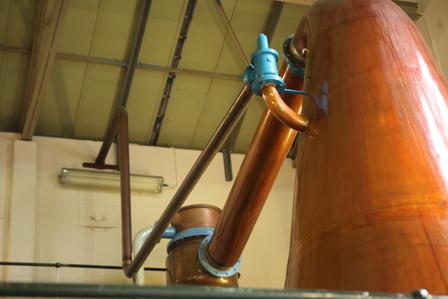 Single Malt Scotch Whisky Production 7. - Distillation image 14