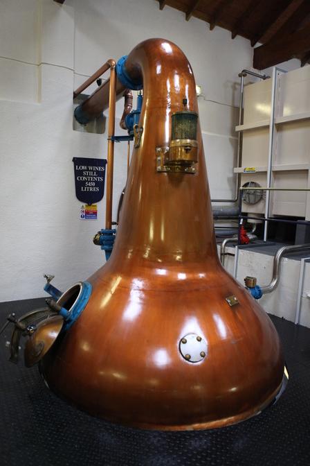 Single Malt Scotch Whisky Production 7. - Distillation image 18