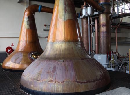 Single Malt Scotch Whisky Production 7. - Distillation image 24