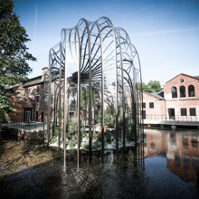 Produced by Bombay Sapphire Distillery (Laverstoke Mill)