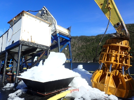 Harvesting icebergs image 3