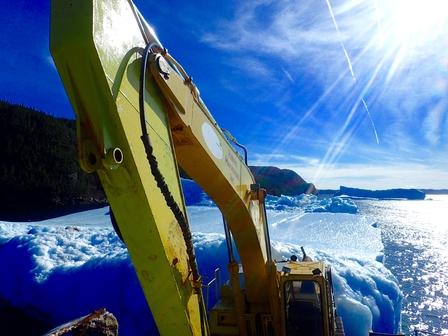 Harvesting icebergs image 6