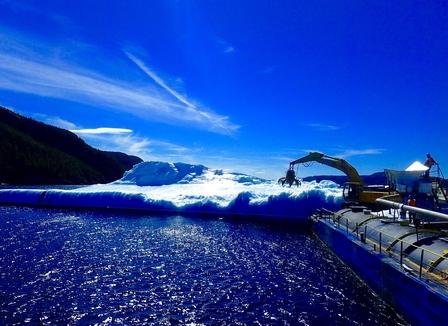 Harvesting icebergs image 2