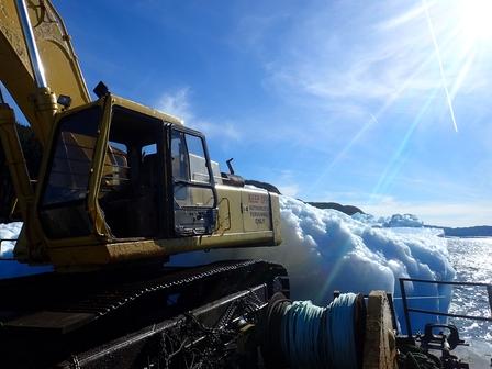 Harvesting icebergs image 5