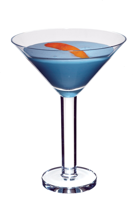 Baby Blue Cocktail image