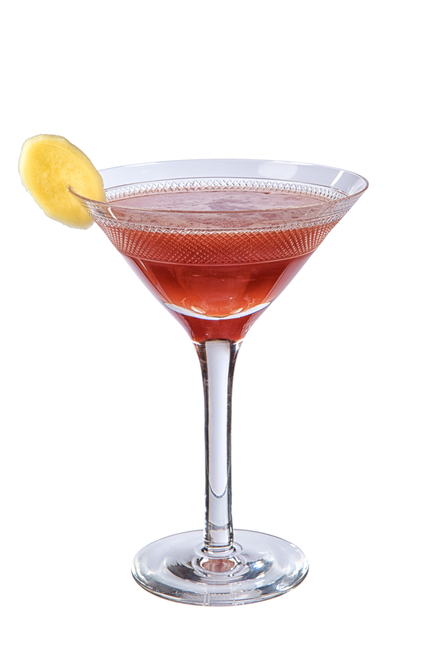 Cherry Ginger Cocktail image