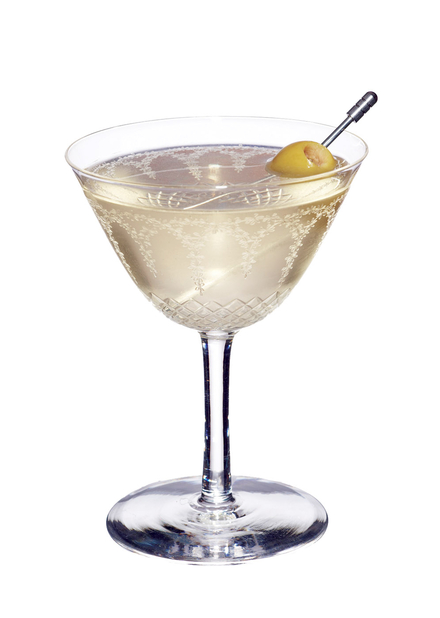 Fifty-Fifty Dry Martini image