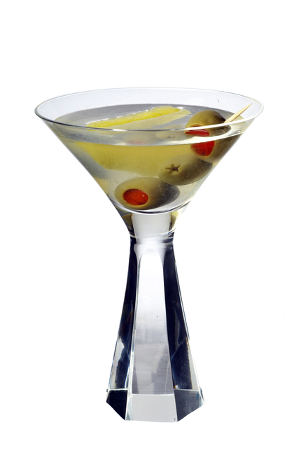 Filthy Dirty Martini image