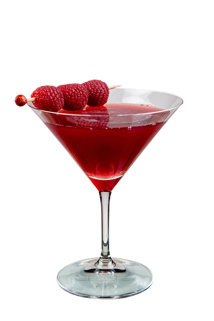 Cobbled Raspberry Cocktail image
