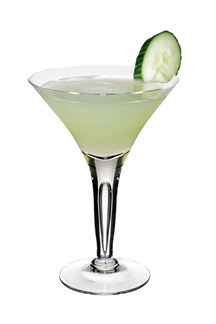 Cucumber & Mint Martini image