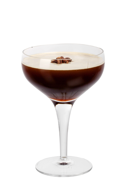 Flying Frenchman (Absinthe Espresso Martini) image