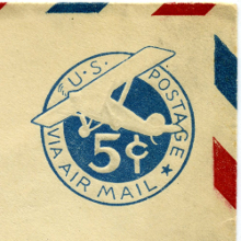 Today is Air Mail's birthday image