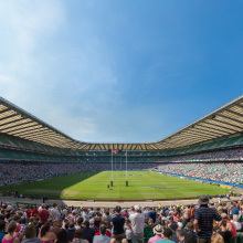 The day Twickenham Stadium opened image
