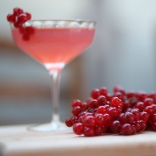 Groseille (redcurrant) syrup - how to make & cocktails