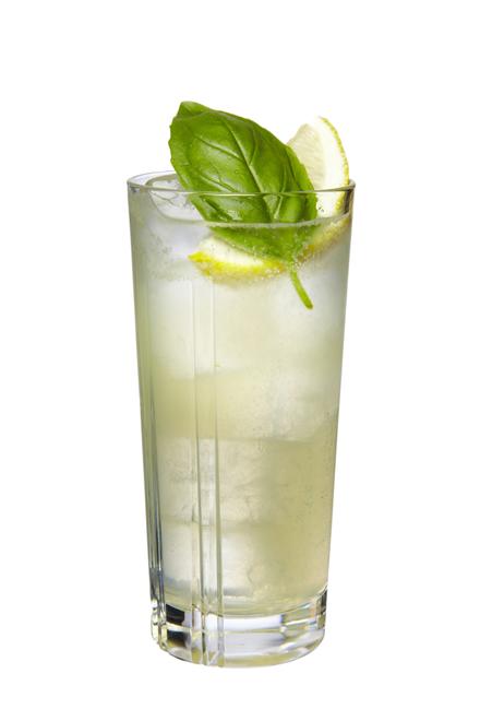 Tequila Basil Lemonade image