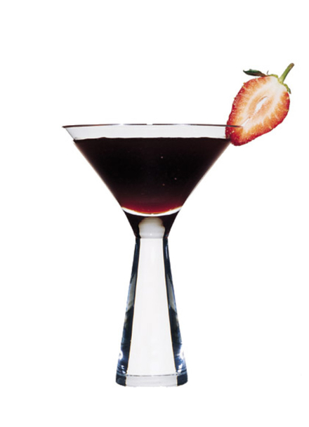 Strawberry & Balsamic Cocktail image