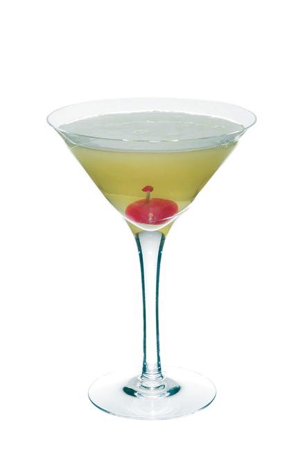 Smoky Apple Martini image