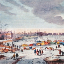 The anniversary of the last Thames Frost Fair image