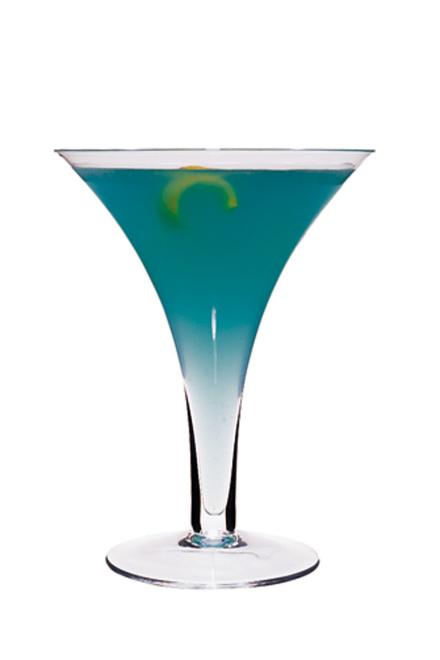 Swedish Blue Cocktail image