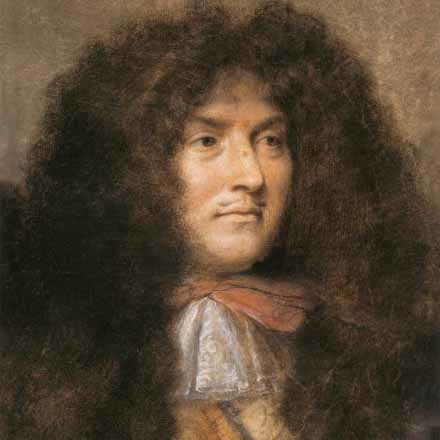 It's the anniversary of Louis XIV's enthronement image