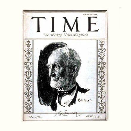 The anniversary of the inaugural Time magazine image