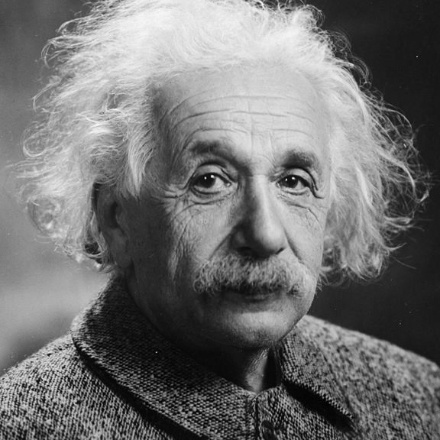It's Albert Einstein's birthday