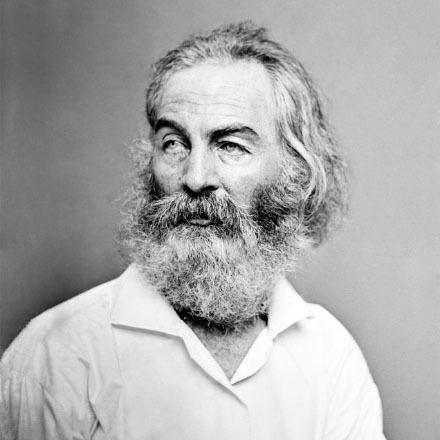 It's Walt Whitman's birthday