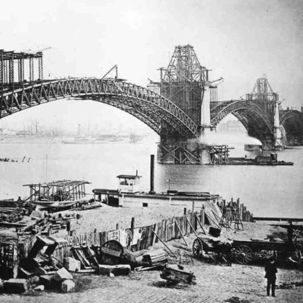 It's the Anniversary of the Mississippi's 1st bridge image