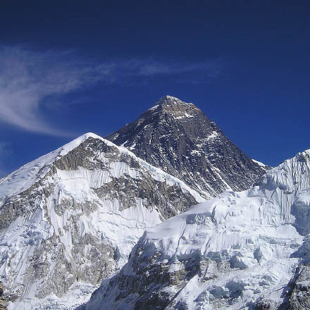 Everest was first summitted this day