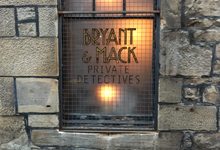 Bryant & Mack Private Detectives Cocktail Bar