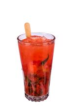 Strawberry & Basil Caipirinha image