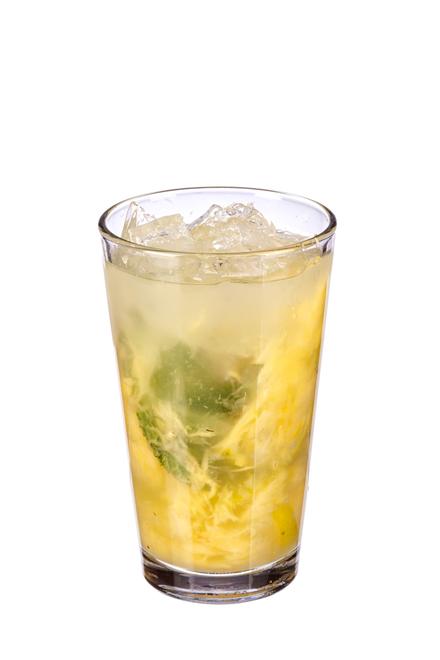 Pineapple & Mint Caipirinha image