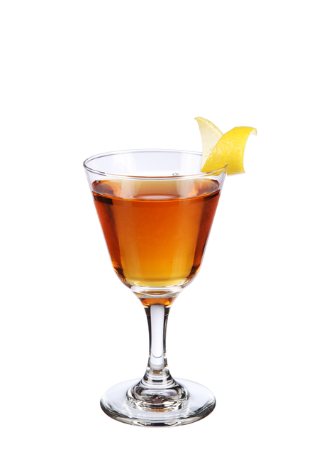 Bamboo Cocktail (Stuart's 1904 recipe) image