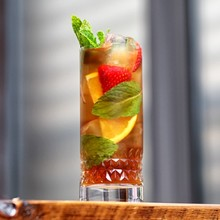 Summer Fruit Cups & Pimm's