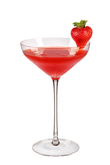 Strawberry Martini image