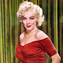 Marilyn Monroe's birthday image