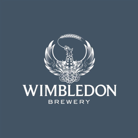 Produced by Wimbledon Brewery