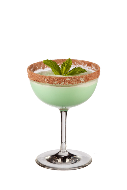 Flying Grasshopper Cocktail Recipe