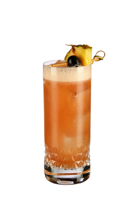Singapore Sling (Dale DeGroff's recipe) image