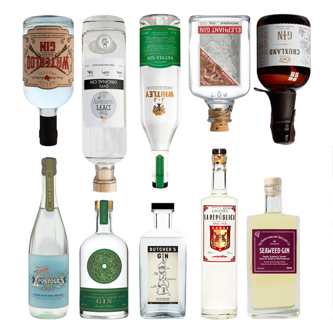 10 Weird and Wonderful Gins from Around the World image