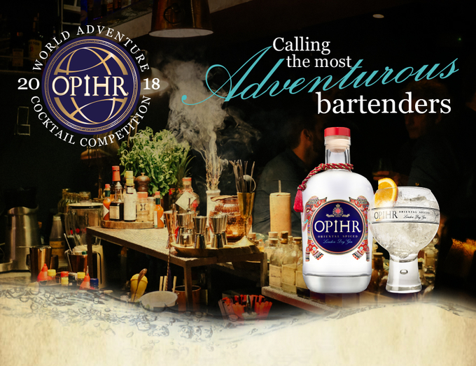 Opihr World Adventure Cocktail Competition image 1