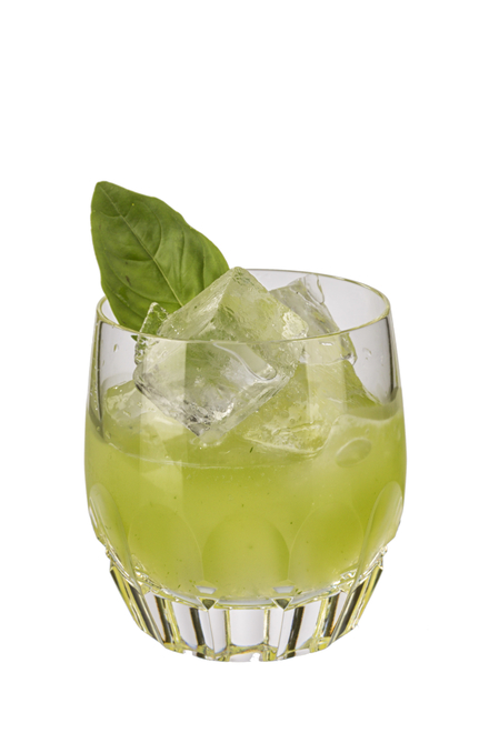 Gin Basil Smash (no added sugar & low-calorie) image