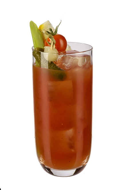 Bloody Mary No Added Sugar And Low Calorie Cocktail Recipe