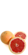 Suco fresco de Grapefruit rosa
