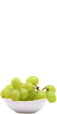 Seedless white grapes image