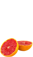 Freshly squeezed ruby grapefruit juice