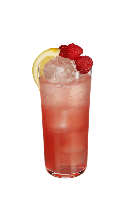 Pink Gin Fizz image